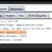 hide nginx server response header